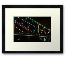 Coloured Steel Framed Print
