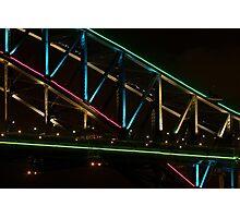 Coloured Steel Photographic Print