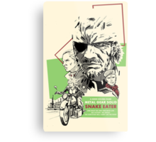 Metal Gear Solid 3: Snake Eater Metal Print