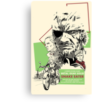 Metal Gear Solid 3: Snake Eater Canvas Print