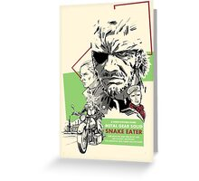 Metal Gear Solid 3: Snake Eater Greeting Card