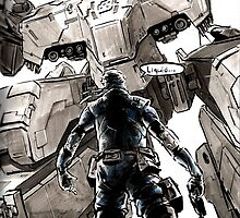 Metal Gear Rex by Cleanlined