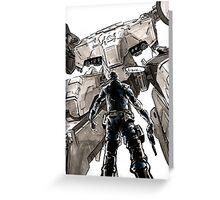 Metal Gear Rex Greeting Card