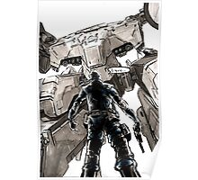 Metal Gear Rex Poster