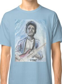 John Mayer in watercolor.  Classic T-Shirt