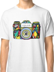 Colorful Camera  Classic T-Shirt
