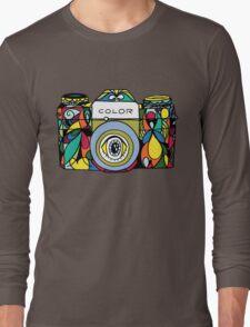 Colorful Camera  Long Sleeve T-Shirt