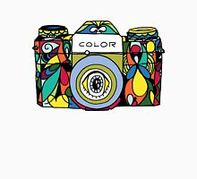 Colorful Camera  Unisex T-Shirt