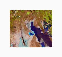 Great Salt Lake Utah Satellite Image Unisex T-Shirt
