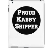 Proud Kabby Shipper iPad Case/Skin