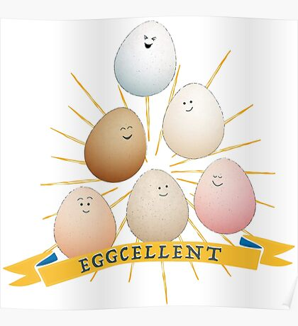 Be a good egg! Poster