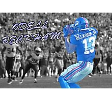 Odell Beckham jr Photographic Print