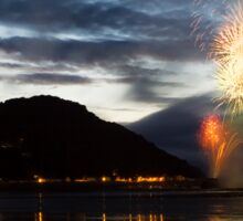 Fireworks at Minehead Harbour Sticker