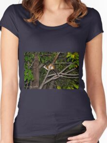 Possum Women's Fitted Scoop T-Shirt