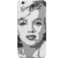 Marilyn LEGO Art by Ogel Studio iPhone Case/Skin