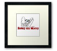 SINKO DE MAYO (CINCO) Framed Print