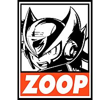 Zero Zoop Obey Design Photographic Print