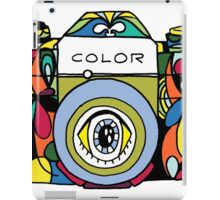 Colorful Camera  iPad Case/Skin