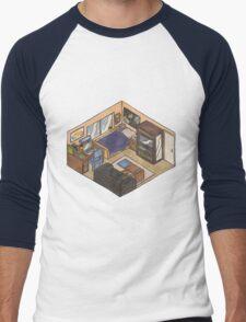 isometry Men's Baseball ¾ T-Shirt
