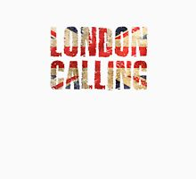 London Calling The Clash Punk Song Lyrics Unisex T-Shirt