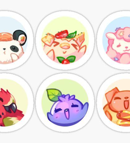 Pet food Sticker