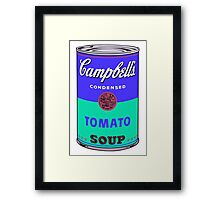 Campbell's Soup Can - Andy Warhol Print Framed Print