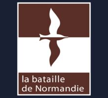 """""""The Battle of Normandy"""", Road Sign, France Kids Tee"""