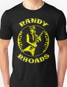 Randy Rhoads (Flames) Colour Unisex T-Shirt