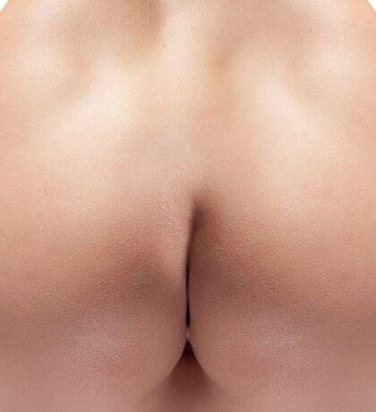 Sexy woman butt Sticker