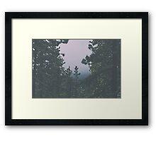 Black Butte Framed Print
