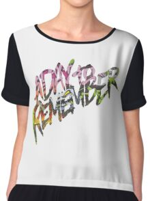"A Day To Remember ""Attack of the Killer B-Sides"" Logo Chiffon Top"