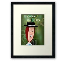 Breaking Grundler Framed Print
