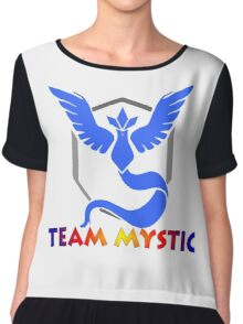 poke, go, articuno,android, ios, apple cool, swag, magikarp, team, game, gaming, legendary, go team, pikachu, pokeball, ball, charmander, nintendo, kid, kids. Chiffon Top