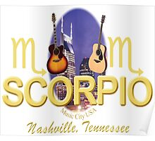 Nashville Scorpio T-Shirts/Gifts Poster