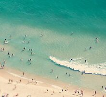 beach love II - Nazare by Ingrid Beddoes