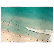 beach love II - Nazare Poster