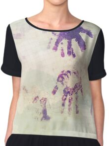 Art In Imperfection 04 Chiffon Top