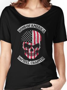 Sons of american Women's Relaxed Fit T-Shirt