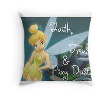 TinkerBell Peterpan  Throw Pillow