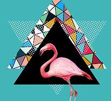 flamingo  by motiashkar