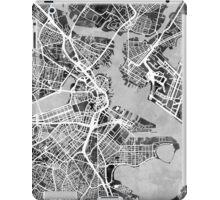 Boston Massachusetts Street Map iPad Case/Skin