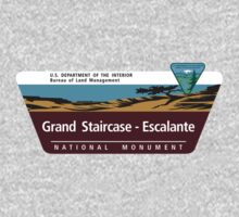 Grand Staircase-Escalante National Monument Sign, Utah Kids Tee