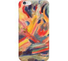 Abstract painting by dore' iPhone Case/Skin