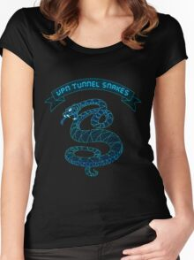 VPN Tunnel Snakes Women's Fitted Scoop T-Shirt