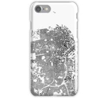 San Francisco Map Schwarzplan Only Buildings Urban Plan iPhone Case/Skin