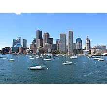 Boston Harbor Photographic Print