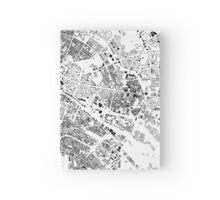 Berlin Map Schwarzplan Only Buildings Urban Plan Hardcover Journal