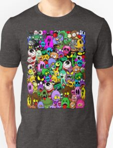Monsters Doodles Characters Saga Unisex T-Shirt
