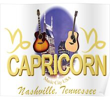 Nashville Capricorn T-Shirts/Gifts Poster
