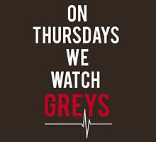 On Thursdays We Watch Greys TShirts & Hoodies Womens Fitted T-Shirt